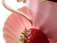 клубника розовый фламинго