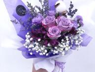фиолетовые розы картинки