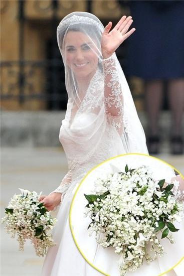 миртовый букет для невесты