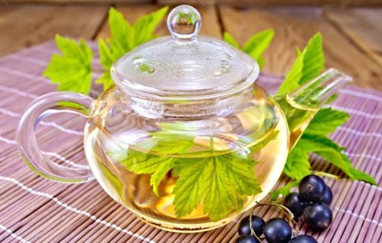 чай из смородиновых листьев