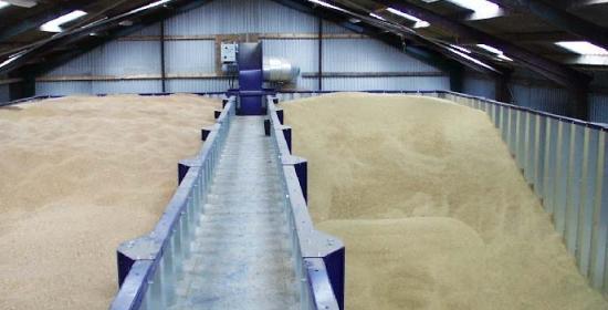 хранение зерна в промышленных масштабах