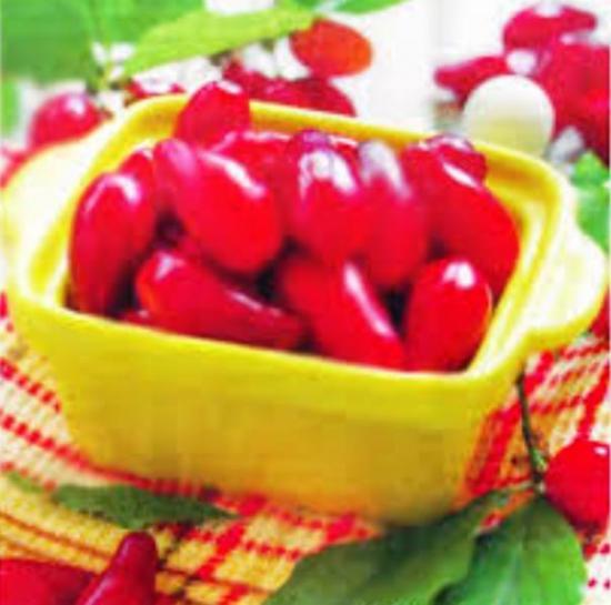 кизил - ягода полезная