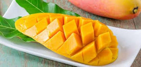 как нарезать манго красиво