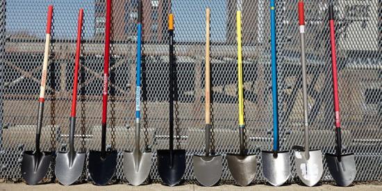 лопаты разных форм