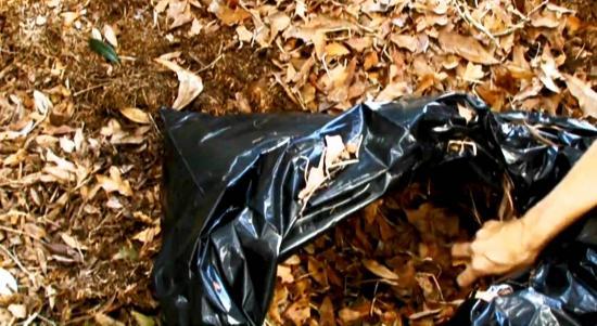 компост в мешках для мусора