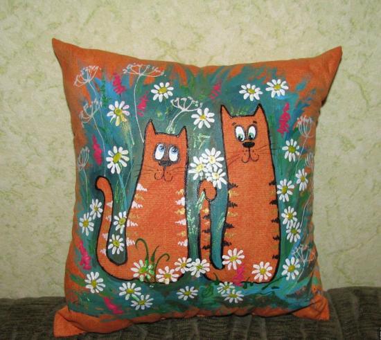 подушка с шишками хмеля