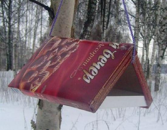 кормушка, чем можно кормить птичек зимой