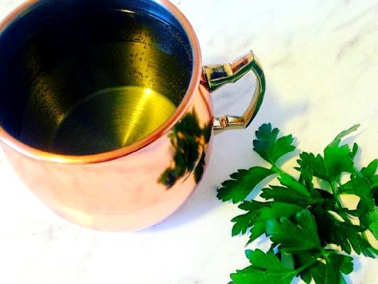 отвар и чай из петрушки