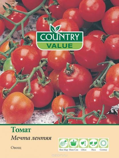 семена томата мечта лентяя