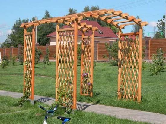 арка из дерева своими руками