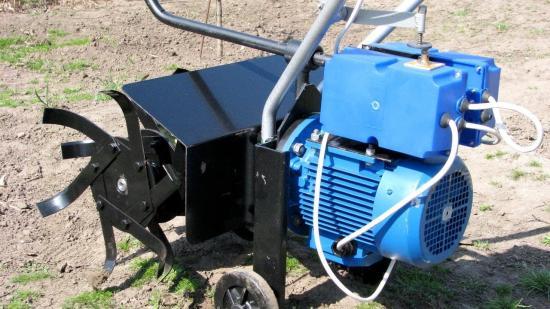 культиватор для грядок электрический