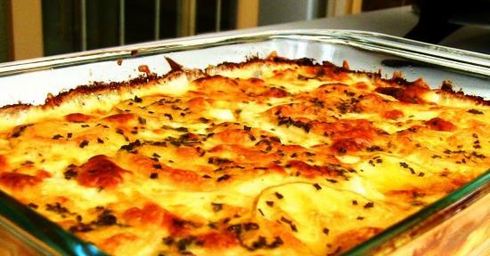картофельзапеченый с сыром