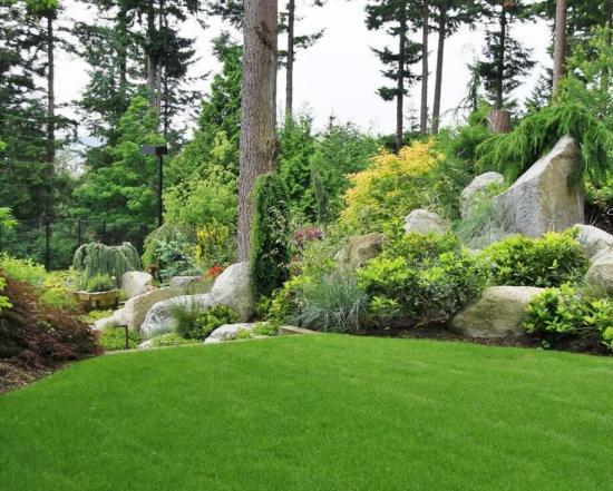 сад в альпийском стиле