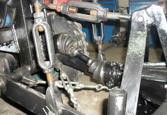 Как изготавливается фреза для минитрактора своими руками из моста автомобиля