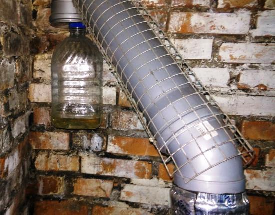 вентиляция из пластиковых труб