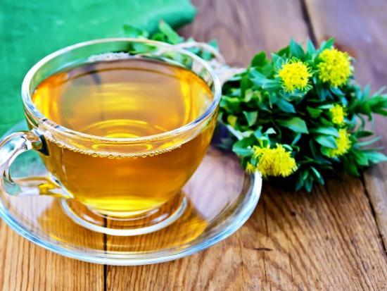 чай с родиолы розовой