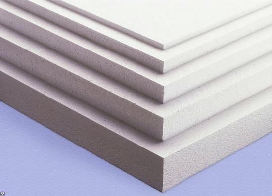 полистирол разной толщины