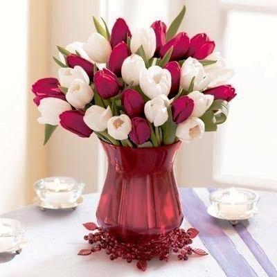 в какую воду ставить тюльпаны