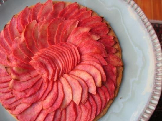 Яблоки розовый жемчуг