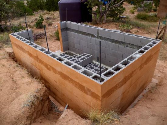 Постройка бани на даче