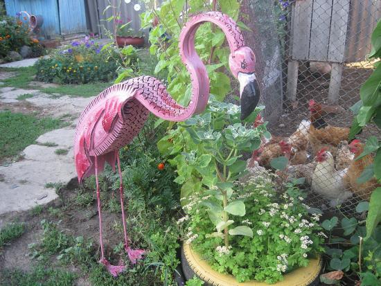 Фламинго своими руками