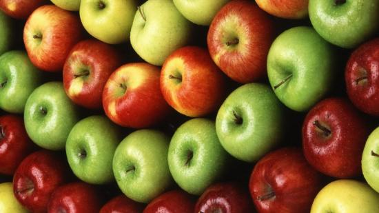 Разные сорта яблок