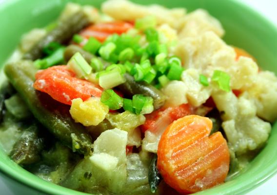 Овощное рагу с цветной капустой рецепты с пошагово