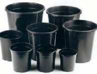 Горшки для растений из пластика