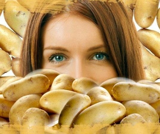 вкусный и полезный картофель