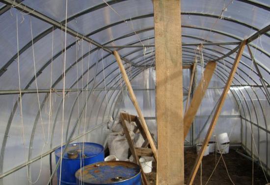 укрепление крыши к зиме