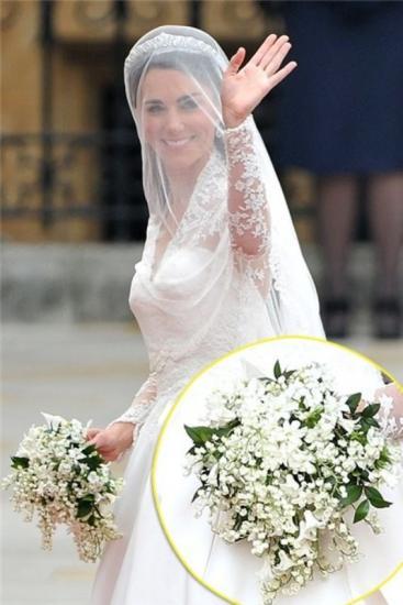 мирт в букете невесты