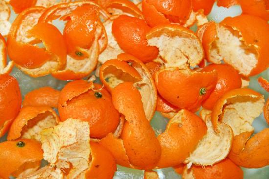 мандариновые корки, применение в саду и на огороде