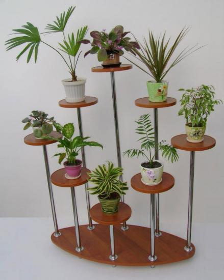 стойки для цветов из дерева своими руками