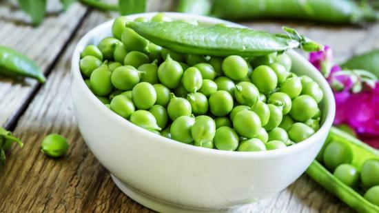 блюда из зеленого горошка
