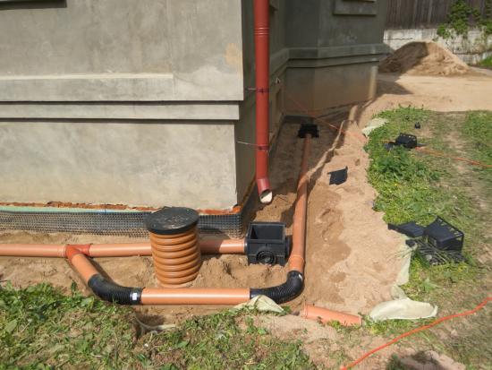 Как отвести воду с участка своими руками, виды дренажных систем, технология их выполнения
