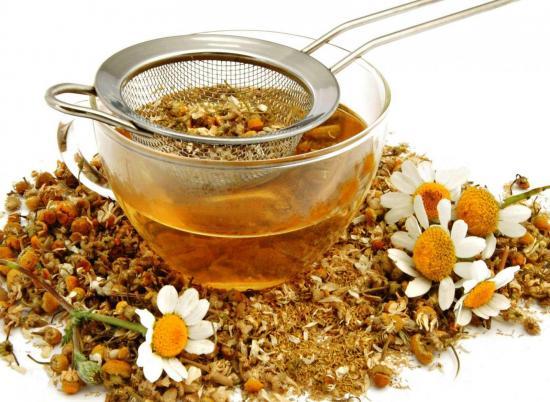 чай и отвар ромашки