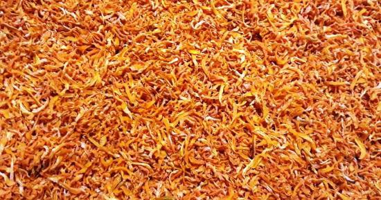 сушим морковь для супа в микроволновке