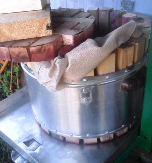 виноградный пресс со стиральной машины своими руками