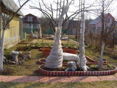 Сад подготовка